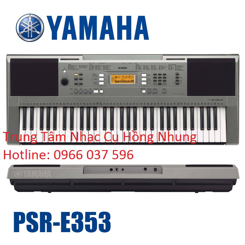 Đàn organ yamaha PSR-E353 Mới