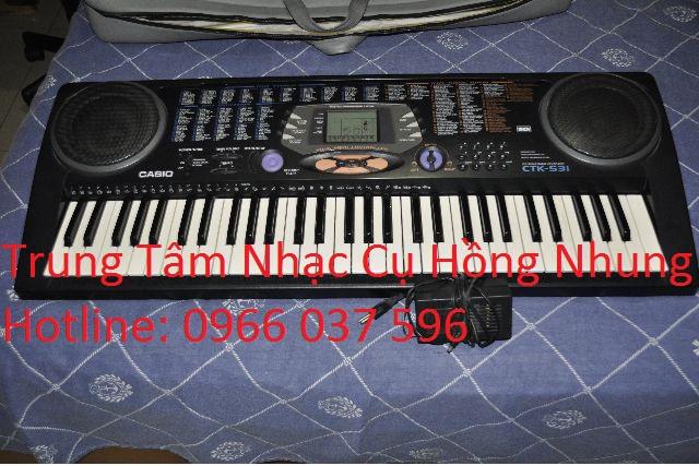 Đàn Casio CTK 531 Cũ